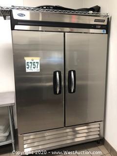 Nor-Lake AdvantEdge Two Door Reach-In Freezer