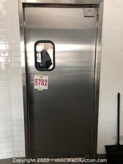 Eliason Swinging Restaurant Door (Frame Not Included)