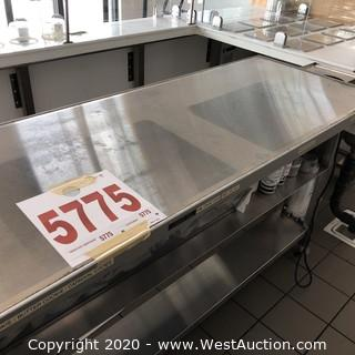 Stainless Steel Warming Plate