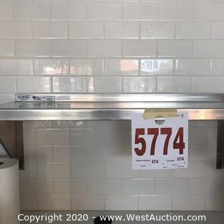NSF Stainless Steel 3' Shelf