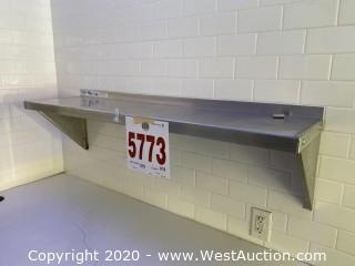NSF Stainless Steel 4' Shelf