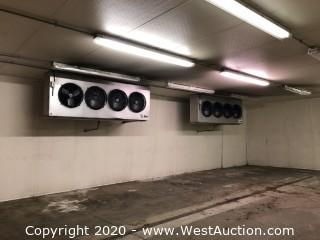 Russell Commercial Reefer System 50' x 30' x 12' Walk-in