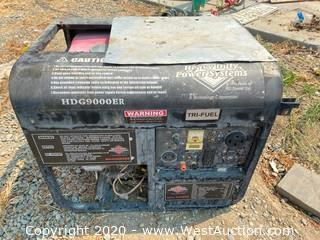 Heavy Duty Power Systems HTG9000ER Generator