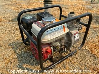 Portable Redlion Pump With Honda Motor