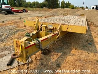 1998 18' Trail King Flatbed Trailer