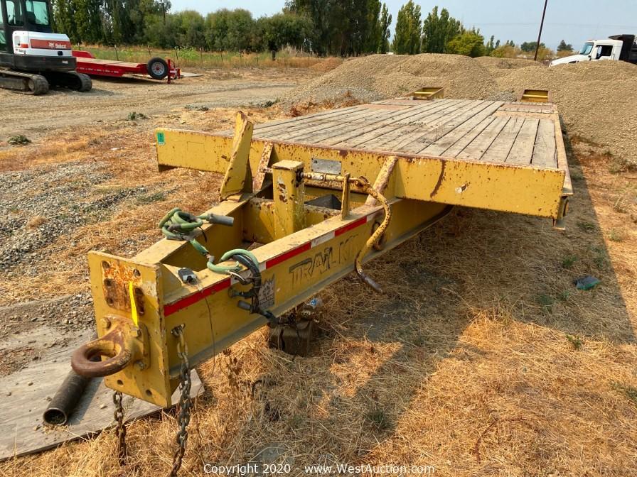 Online Auction of 2010 Kenworth Truck, 2012 Bobcat Excavator, Trailers and Equipment in Dixon, California