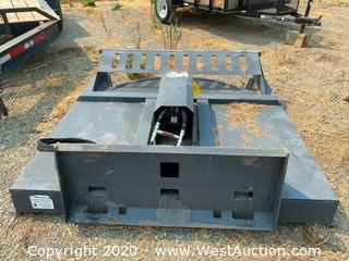 Brush Cutter Skid Steer Attachment