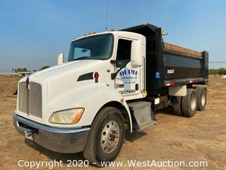 2010 Kenworth Truck with Dump Bed