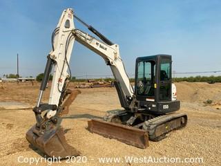 2012 Bobcat E55 Excavator
