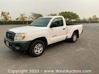 Bankruptcy Auction of 2010 Toyota Tacoma Truck