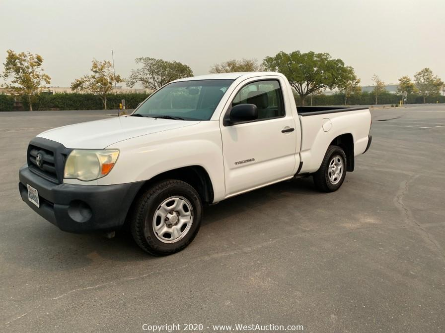 Online Bankruptcy Auction of 2010 Toyota Tacoma Truck