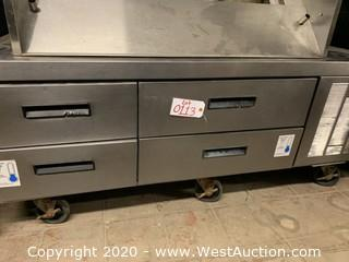 Delfield Chef Base 4 Drawers