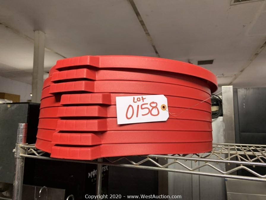Online Auction of Restaurant Equipment