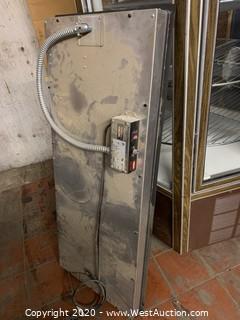 Glo-Ray Heated Dropping Shelf Warmer