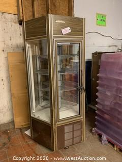 Federal Pastry Rotaing Refrigerated Display