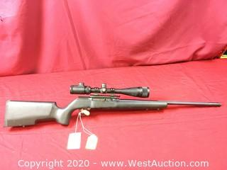 Savage A-22 Target W/Scope In .22Lr