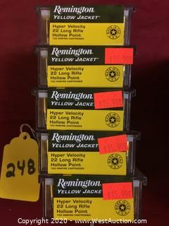 Remington .22 Long Rifle (5 Boxes) 500 Rounds