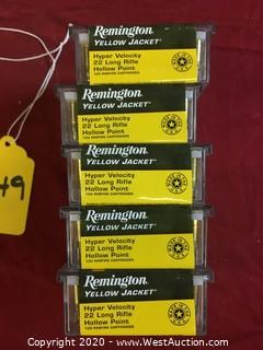 Remington.22LR 5-Boxes  (500 Rounds)