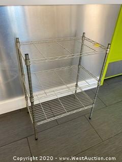 """NSF Wire Shelf Rack 23"""" x 13"""" x 30"""""""