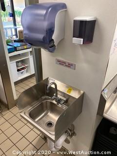 Hand Wash Station Sink