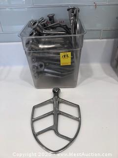 (15+) Stainless Steel Commercial Mixer Paddles