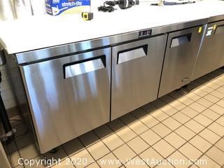 Atosa (3) Solid Door Undercounter Refrigerator