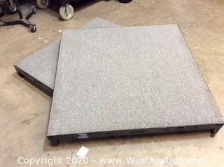 (2) Biljax 4'x4' Staging