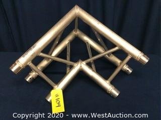 DURATRUSS Triangular Truss 90 Degrees (Silver Color)