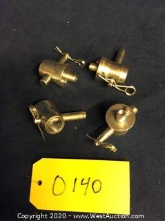 (4) DURATRUSS Half Conical Connecting Couplers
