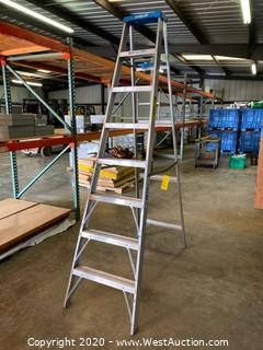 8' Keller Aluminum Ladder