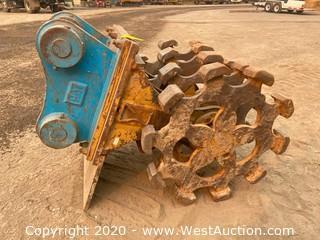 CAT 321 Wheel Compactor
