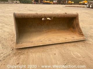 "Wayne Roy 305 48"" Excavator Grading Bucket"