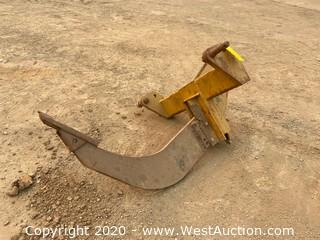 Bison SVH-1 Ripper Shank Attachment For Skip Loader