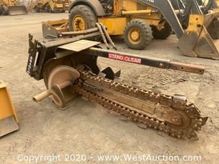BradCo 635 Trencher Attachment For Skid Steer