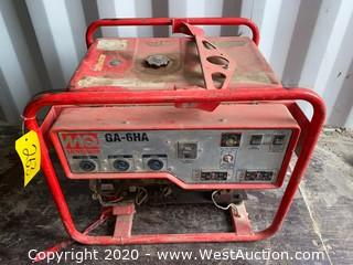 Multiquip GA-6HA Gasoline Powered Generator