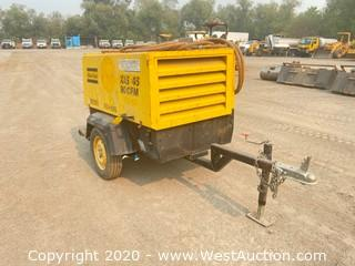 Atlas Copco Trailer Mounted Air Compressor
