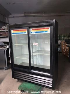 True GDM-41SL-60 Two Sliding Glass Door Merchandiser