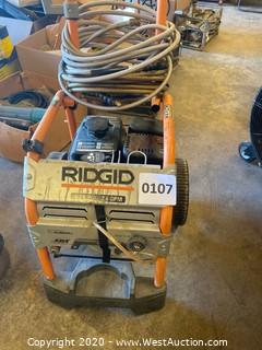 Ridgid 3000 PSI Power Washer