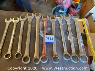 (10) Combination Wrenches