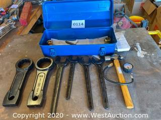 Asahi Wrench Set With Toolbox