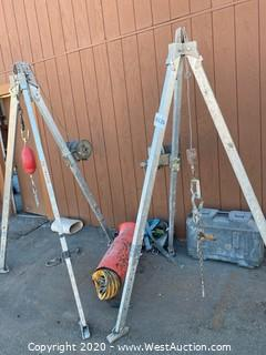 Manlift Confined Space Tripods