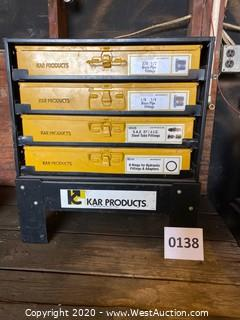 Kar Products Parts Cabinet with Contents