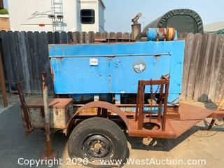 Miller Wildcat 350D Welder on Trailer