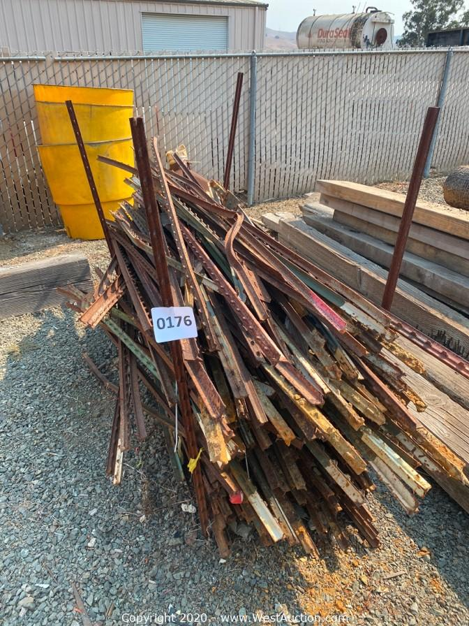 Online Auction of Broce Broom Sweepers and Equipment from Construction Company
