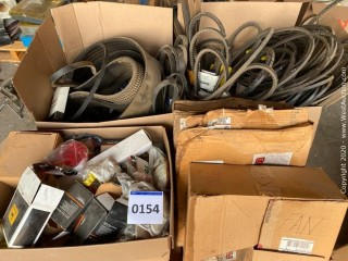 Bulk Lot: Fan Belts, Trailer Lights & Markers