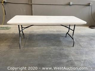 6' Lifetime Table with Folding Legs