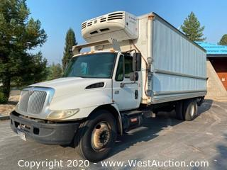 2005 International 4300 SBA 22' Box Truck with Thermo King Refrigerator