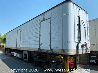 1981 Great Dane 45' Refrigerated Trailer (Converted for Stationary Use)