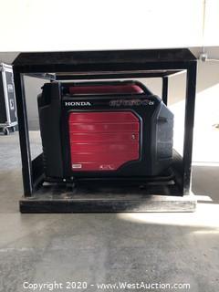 Honda EU 6500 Gas Powered Generator