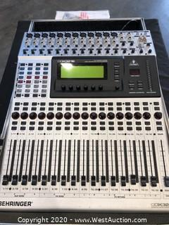 Behringer DDX3216 Mixing Console w/ anvil Case